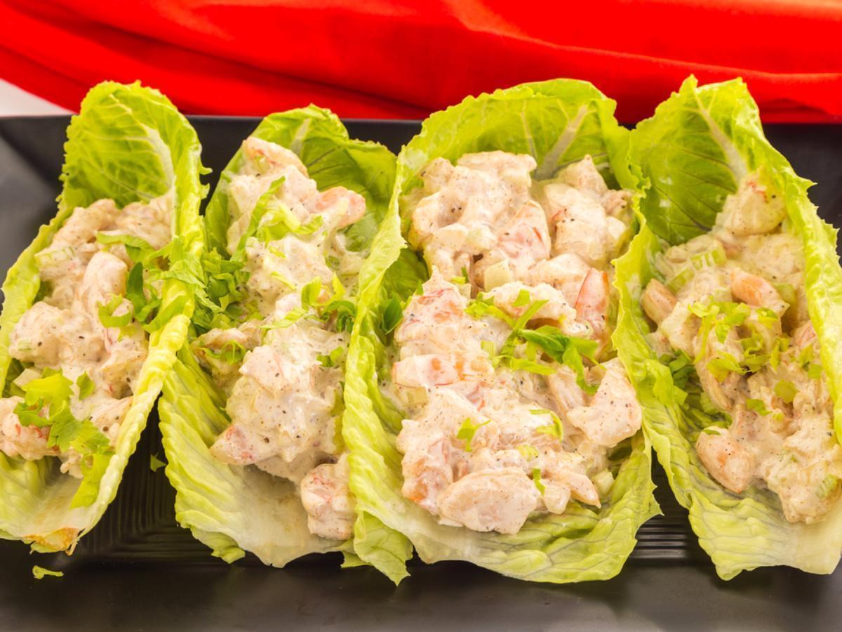 Shrimp Lettuce Wraps Healthy Recipe