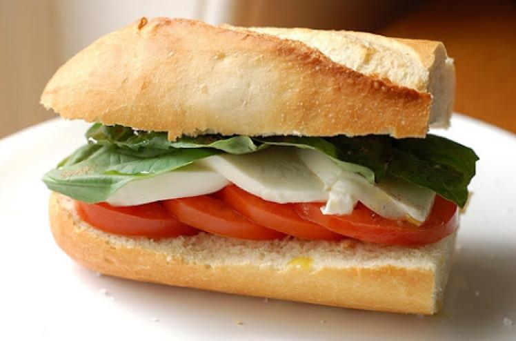 Simple Caprese Sandwich Healthy Recipe