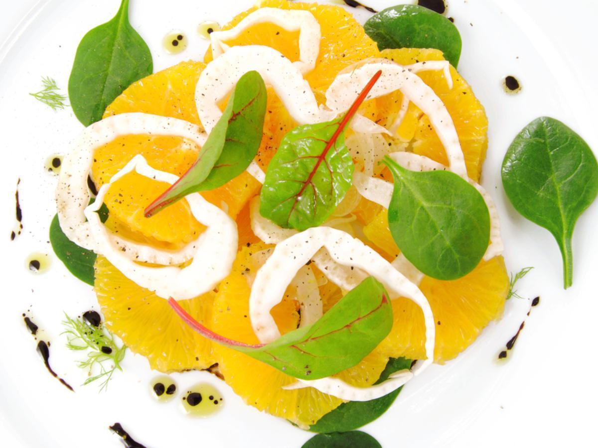 Simple Fennel and Orange Salad Healthy Recipe