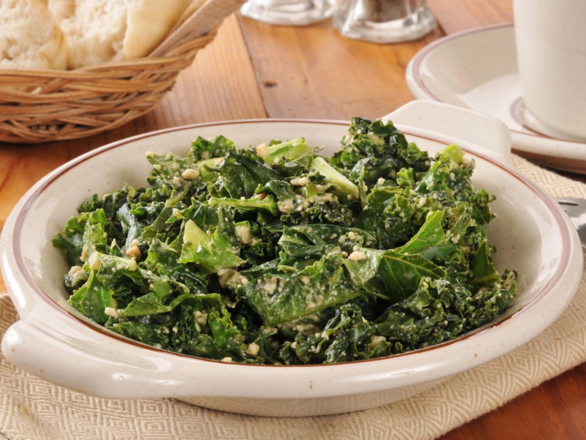 Simple Kale Salad Healthy Recipe