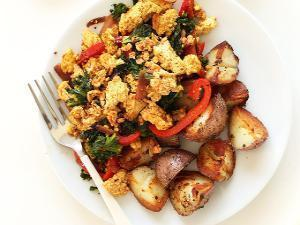 Simple Tofu Scramble Healthy Recipe