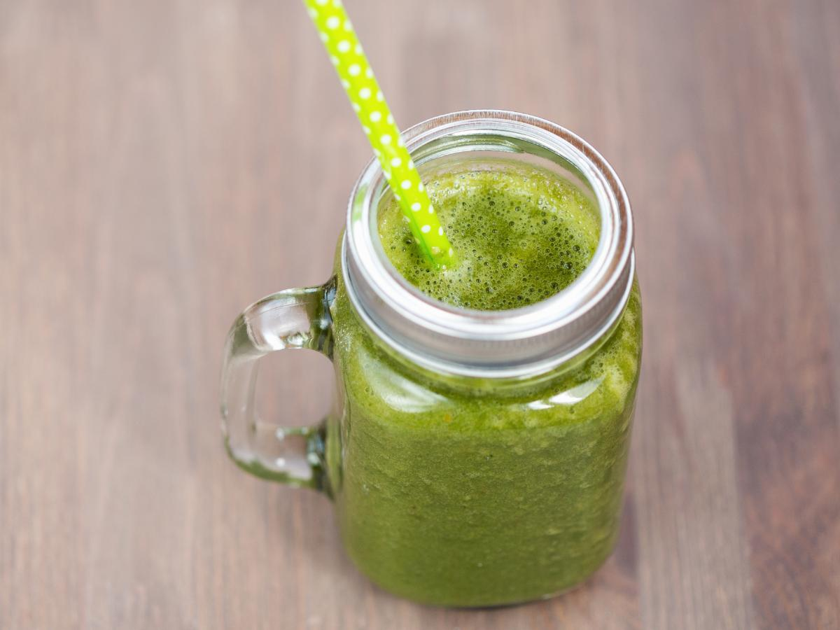 Skin Cleansing Tropical Green Smoothie Healthy Recipe