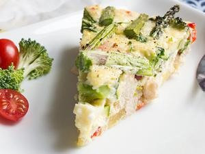 Skinny Chicken and Vegetable Frittata Healthy Recipe