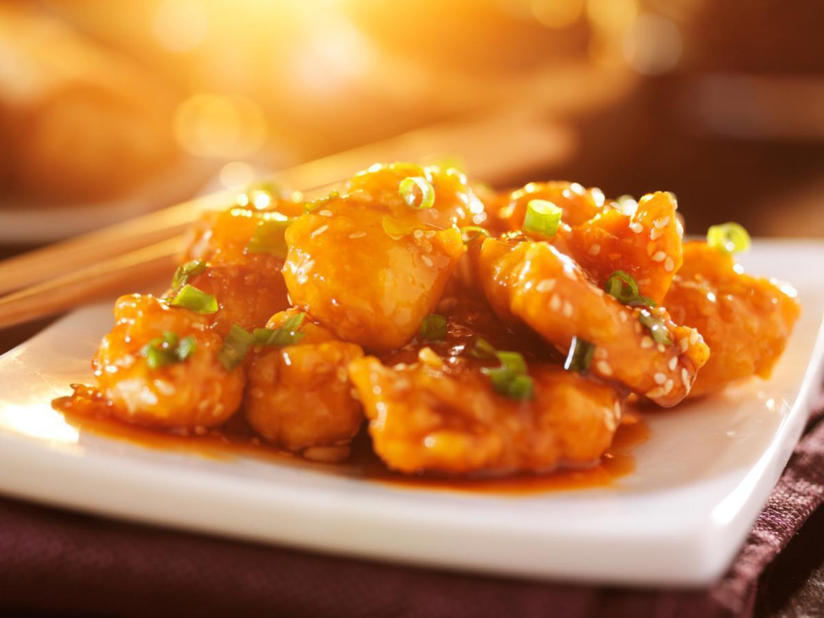 Skinny Orange Chicken Healthy Recipe