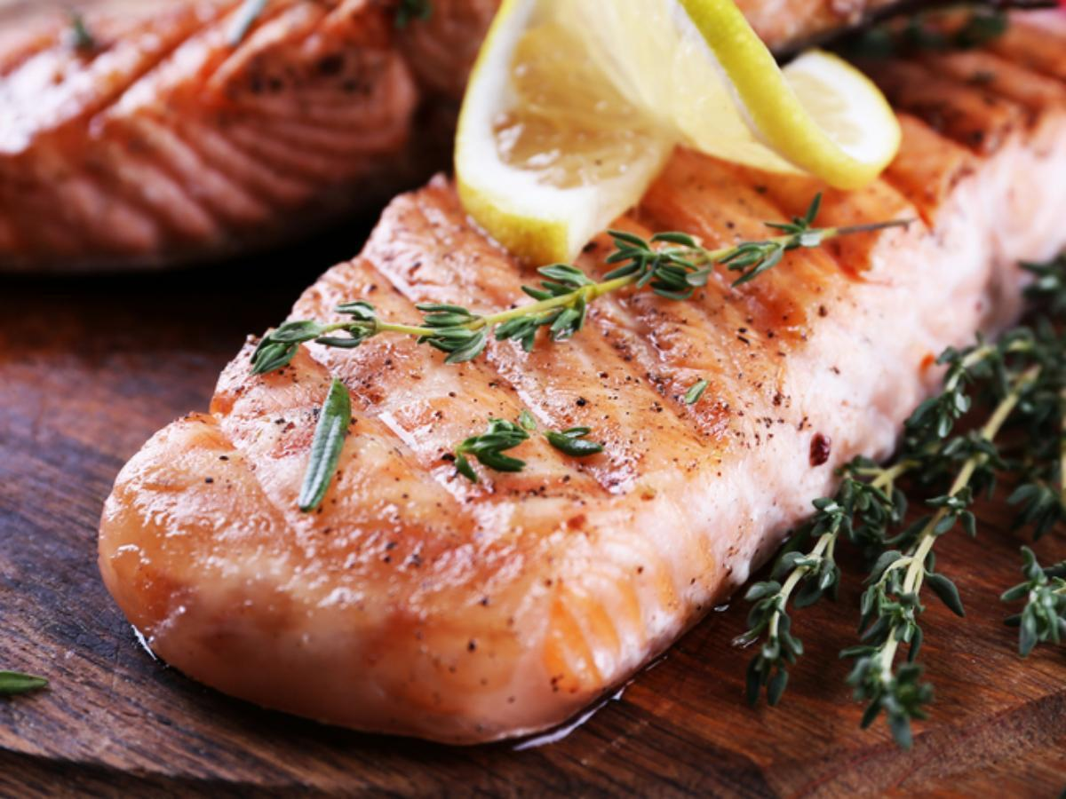 Slow-Baked Salmon with Lemon and Thyme Healthy Recipe
