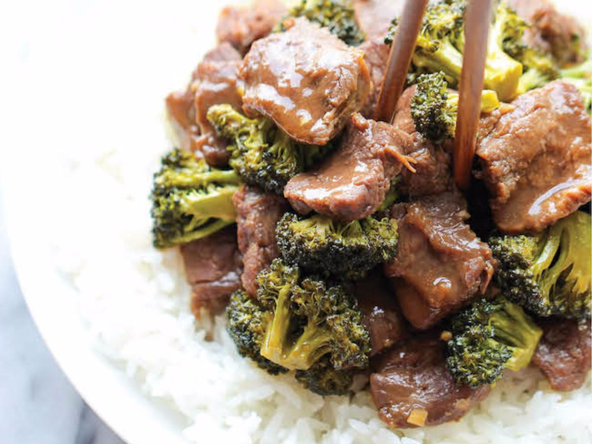 Slow Cooker Beef and Broccoli Healthy Recipe