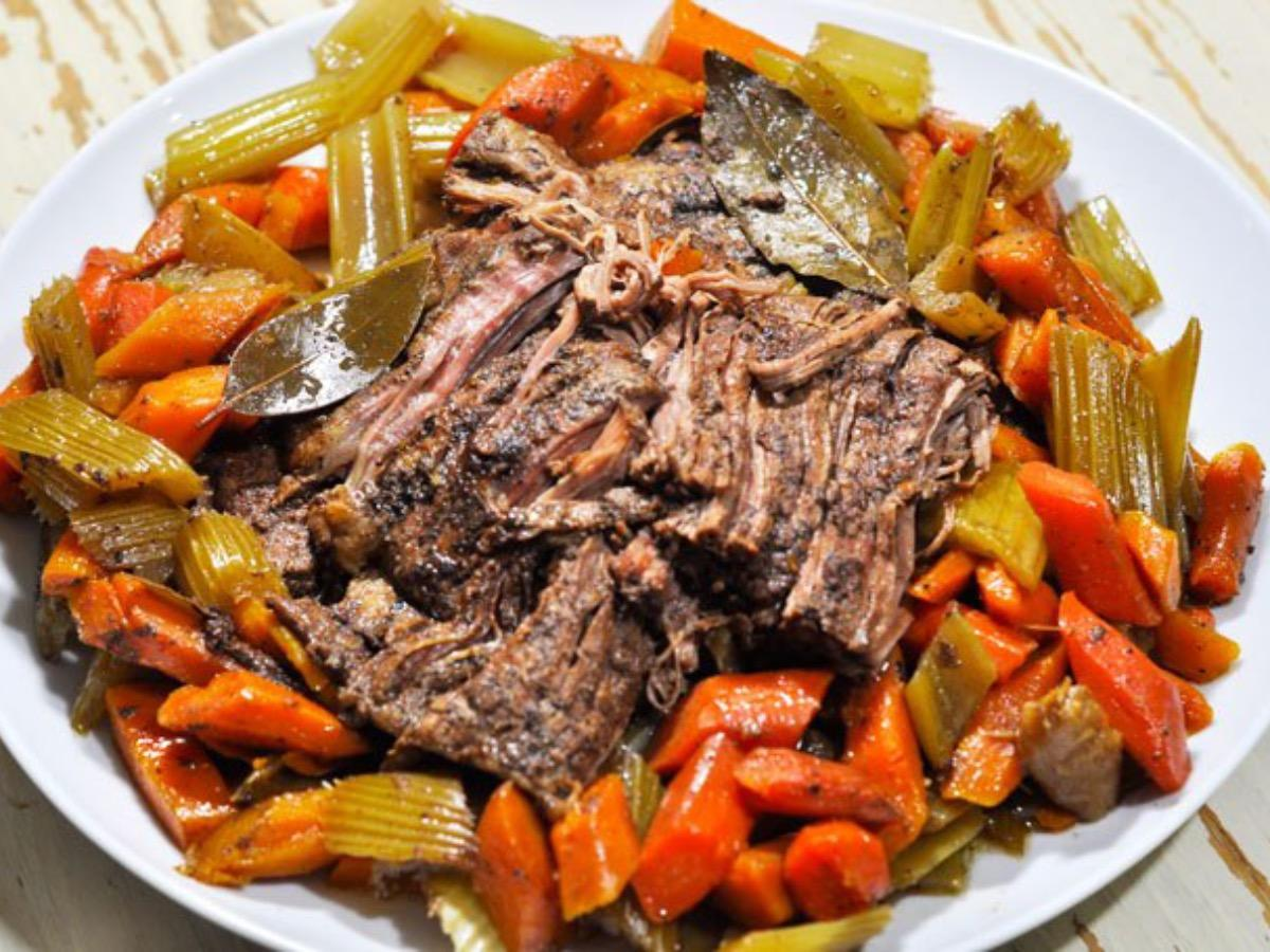 Slow Cooker Paleo Pot Roast Healthy Recipe