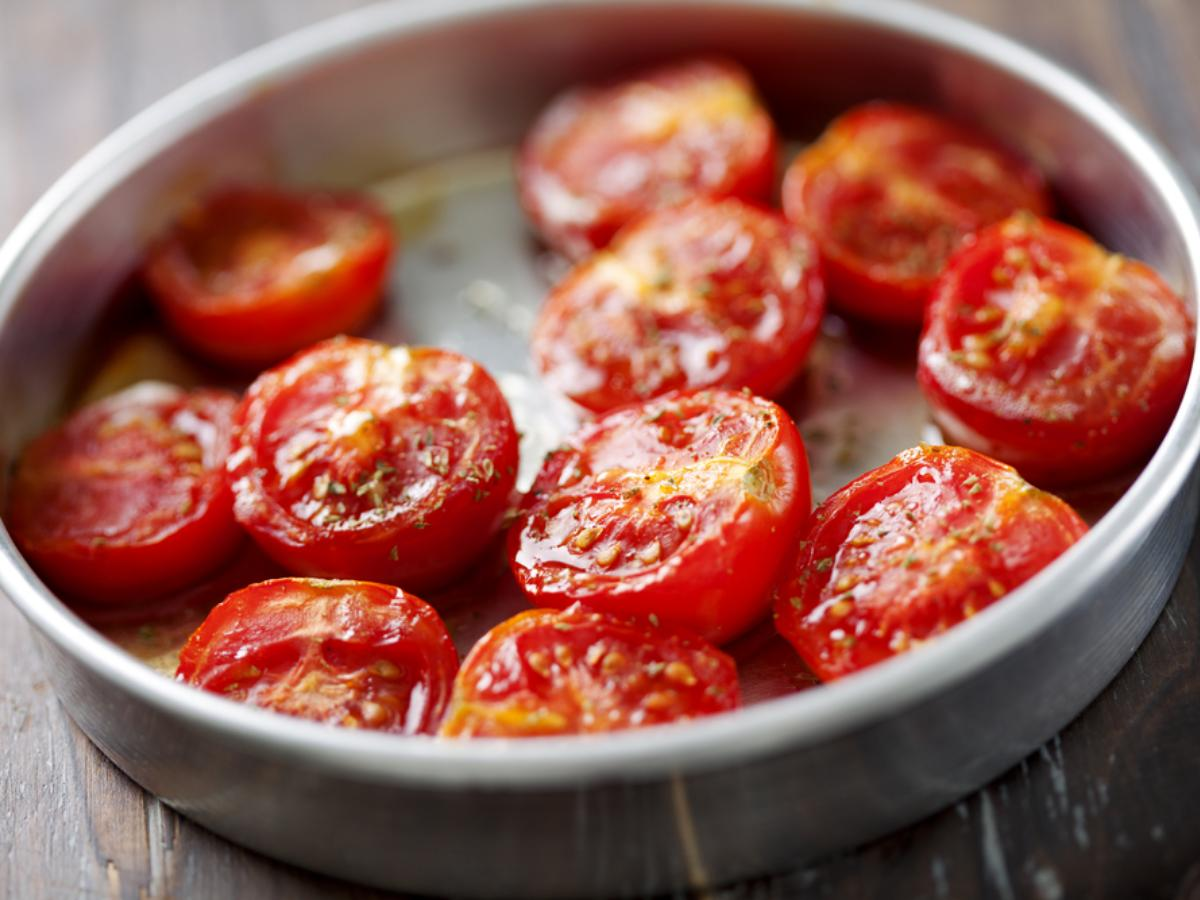 Slow roasted tomatoes Healthy Recipe