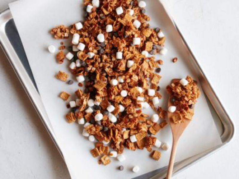 S'mores Granola  Healthy Recipe