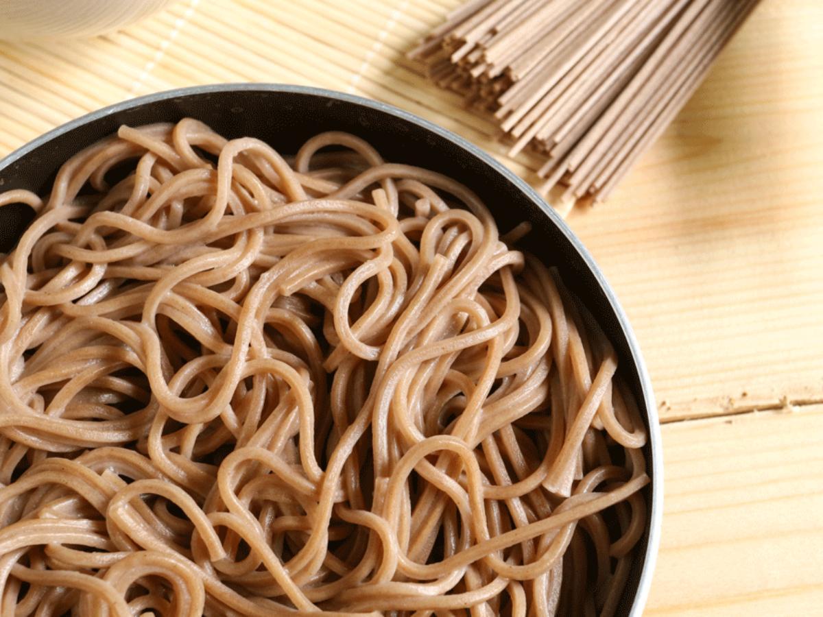 Soba Noodles & Coconut Curry Healthy Recipe