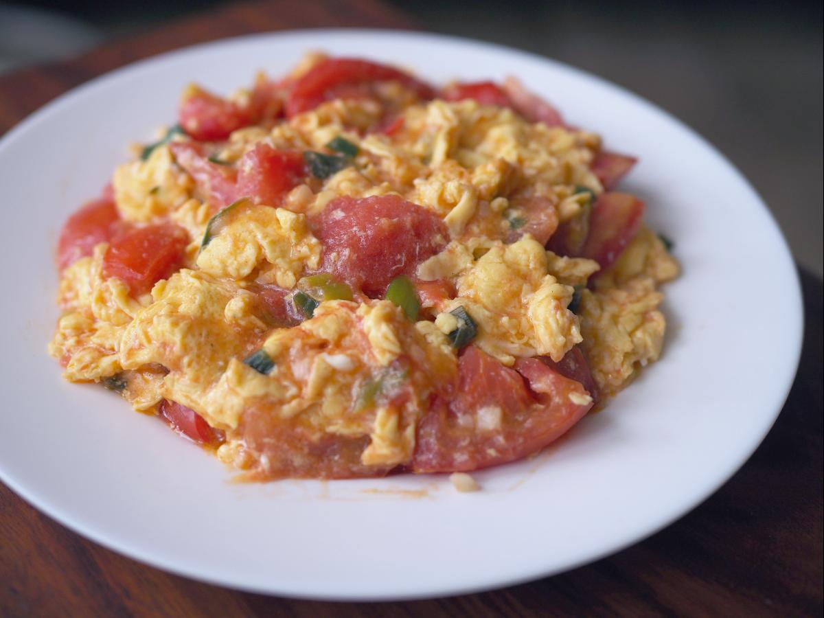 Southwest Salsa Eggs Healthy Recipe