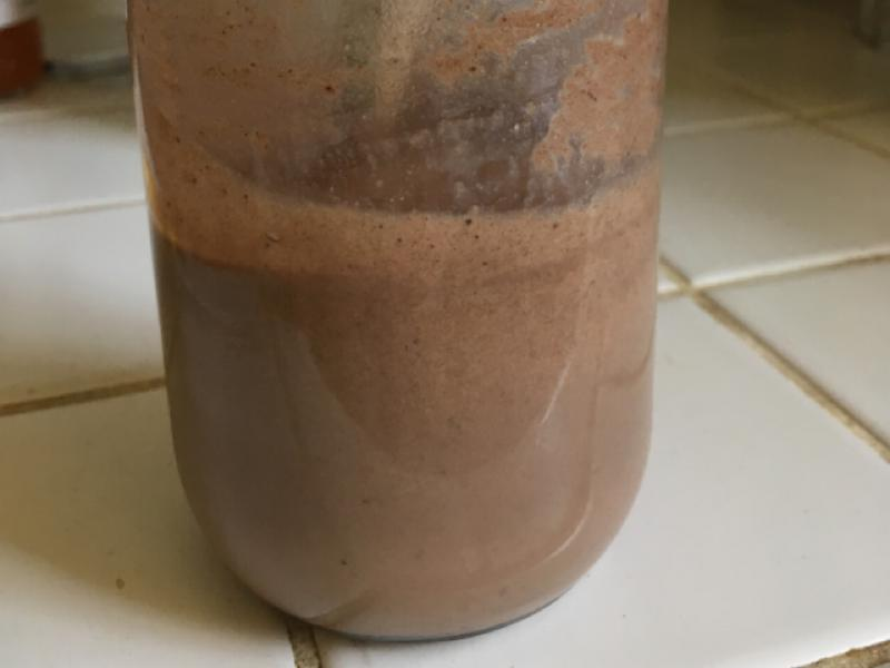 Soy and Agave Cocoa Protein Shake Healthy Recipe