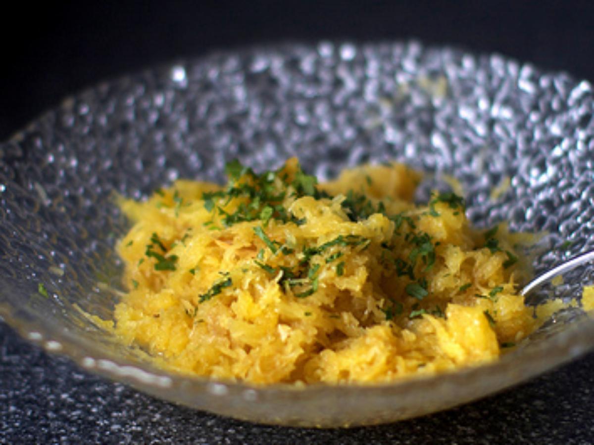 Spaghetti Squash with Moroccan Spices Healthy Recipe
