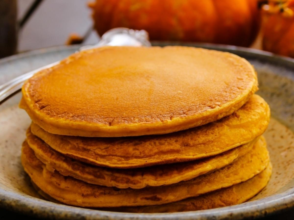 Spiced Pumpkin Pancakes Healthy Recipe