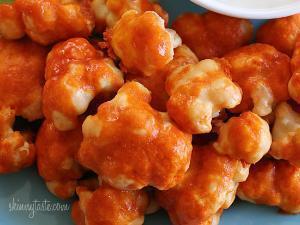 Spicy Buffalo Cauliflower Bites Healthy Recipe