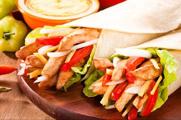 Spicy Chicken Fajita Healthy Recipe