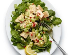 Spicy Chicken Salad Healthy Recipe