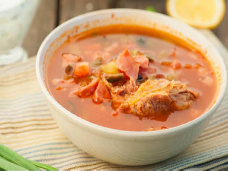 Spicy Chicken soup Healthy Recipe