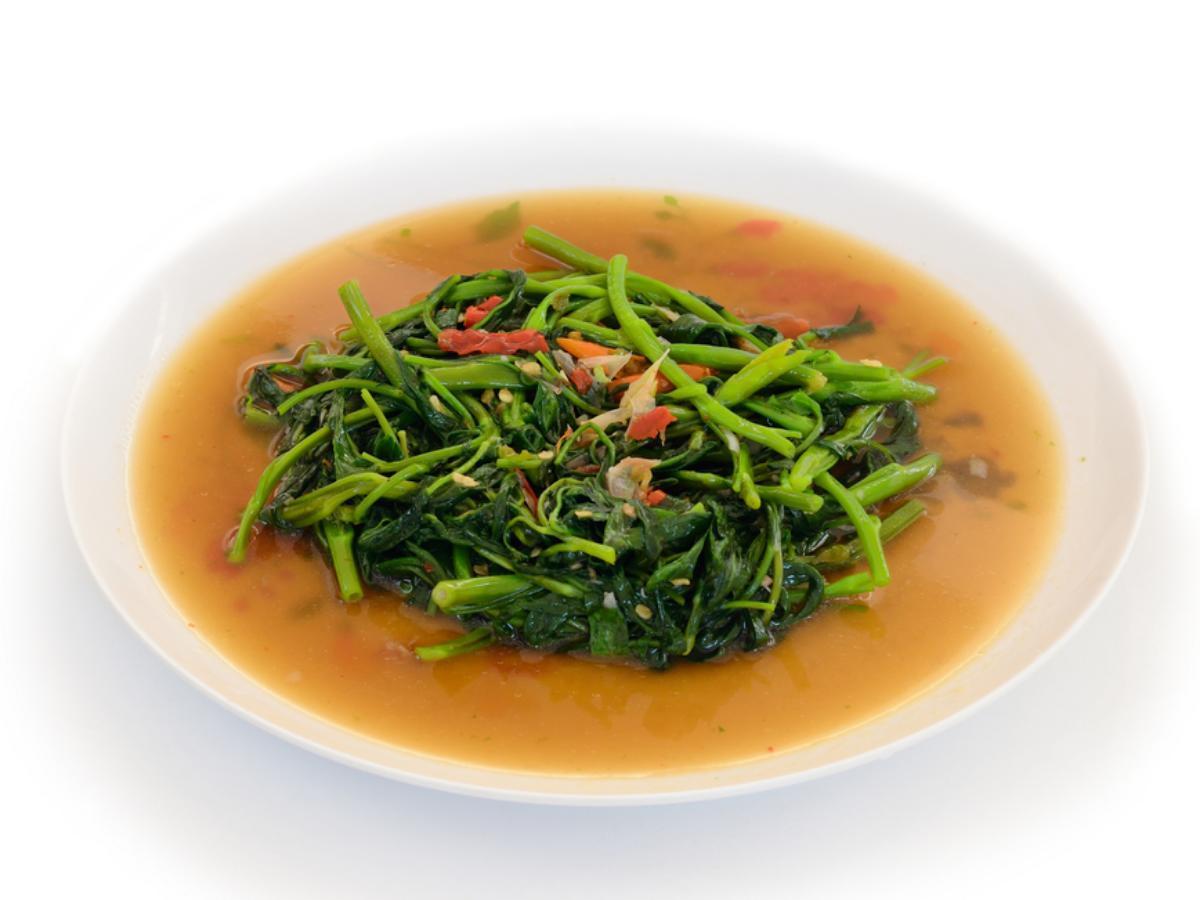 Spicy Sauteed Spinach Healthy Recipe