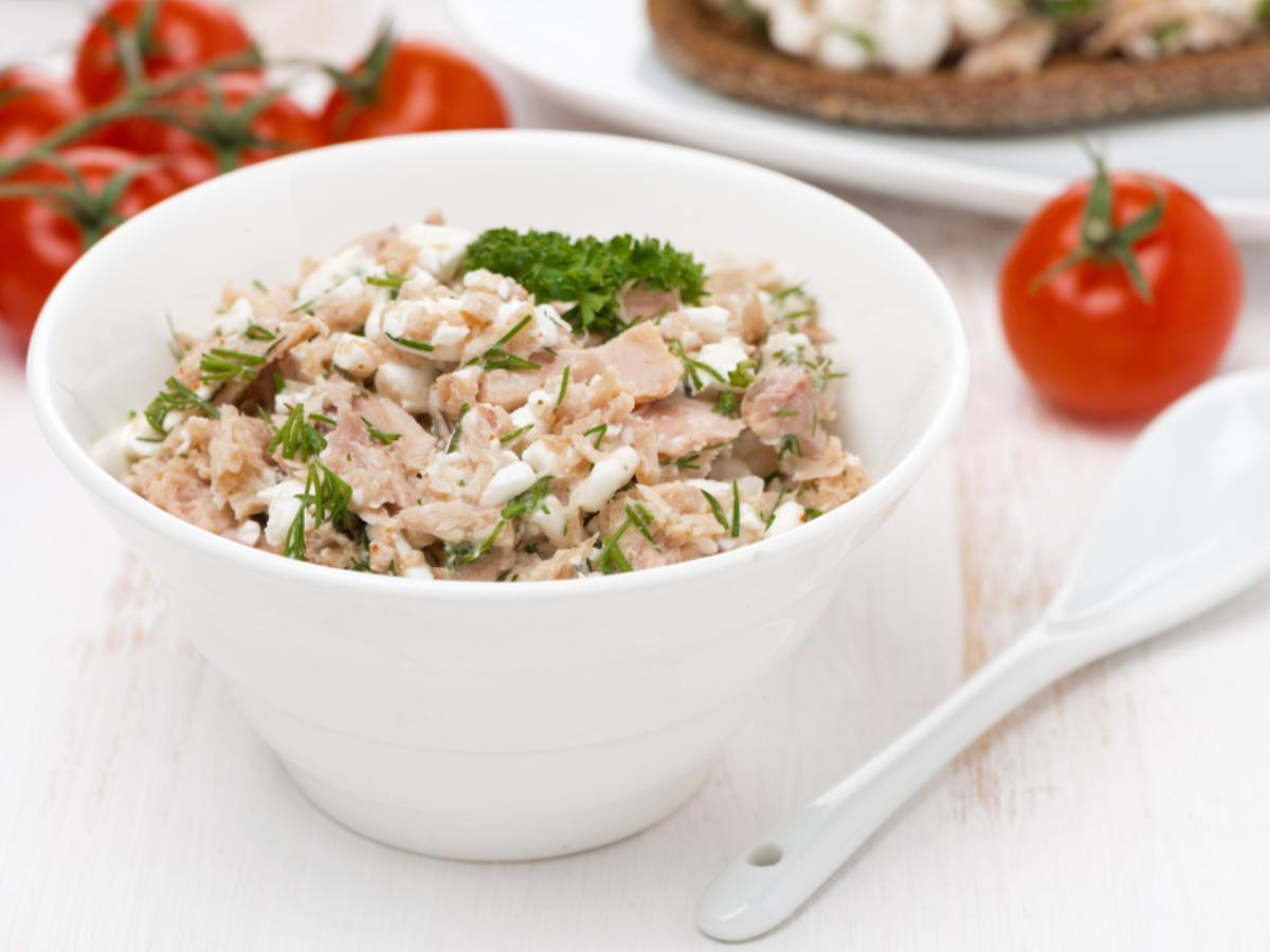 Spicy Tuna and Cottage Cheese Bowl Healthy Recipe