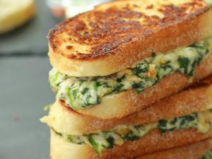 Spinach and Artichoke Melt Sandwhich Healthy Recipe
