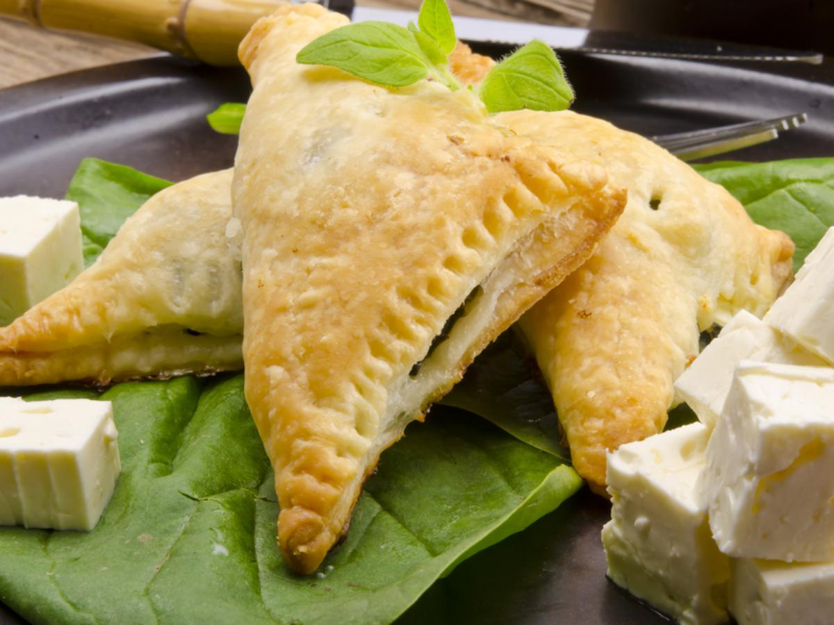 Spinach with feta turnover  Healthy Recipe