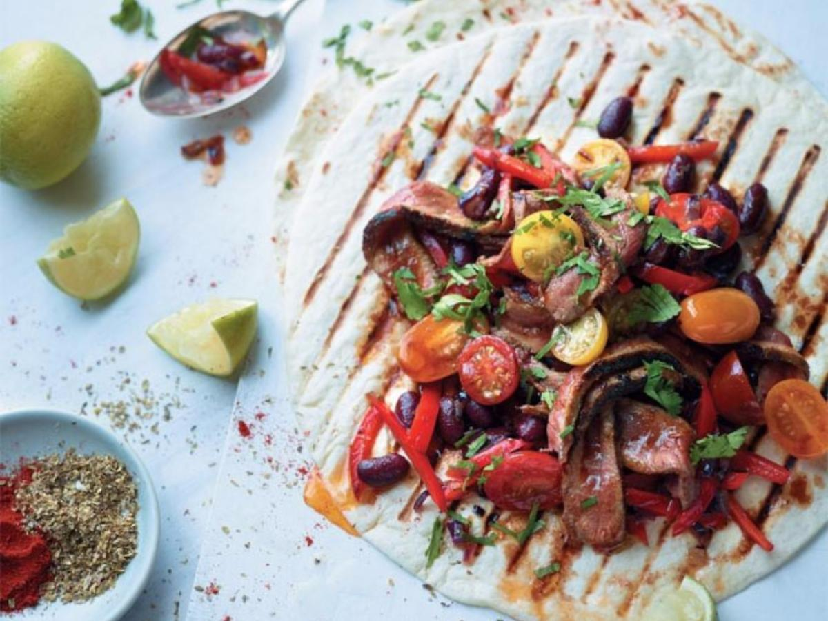 Steak Burrito  Healthy Recipe