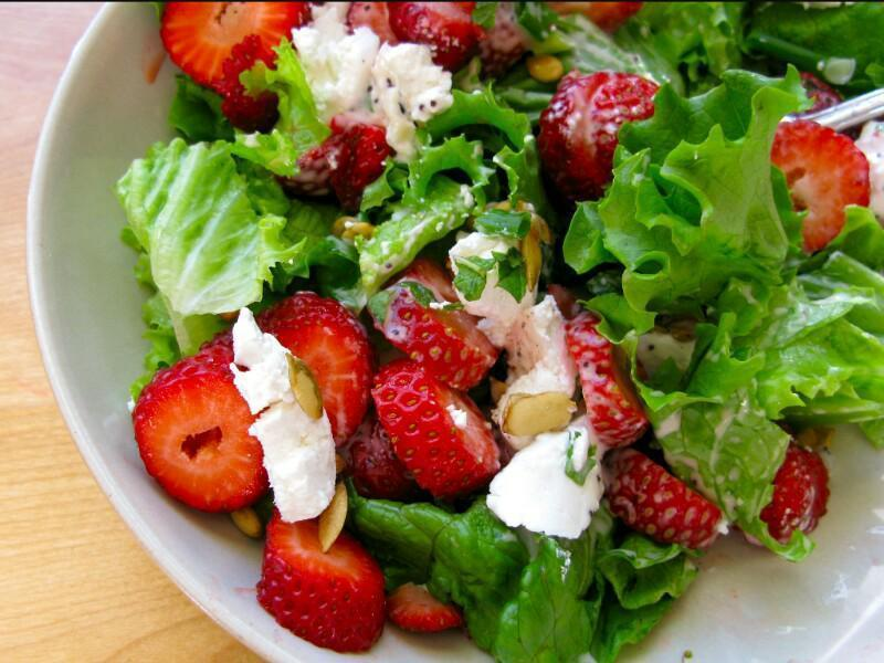 Strawberry Salad Healthy Recipe