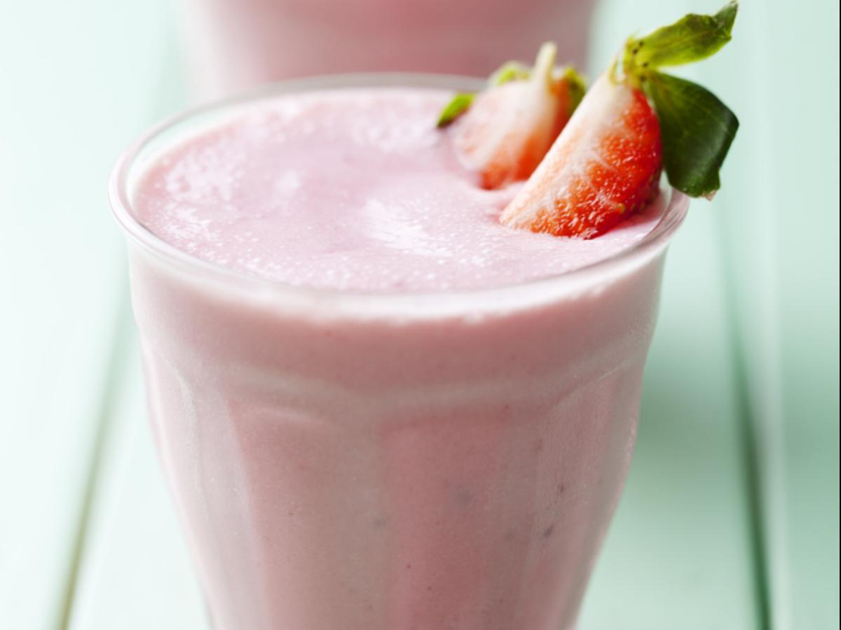 Strawberry Vanilla Coconut Smoothie Healthy Recipe