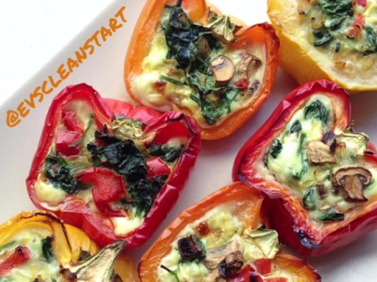 Stuffed Breakfast Peppers Healthy Recipe