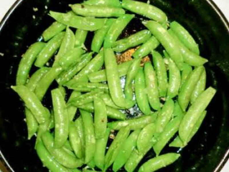 Sugar Snap Peas with Tarragon Butter Healthy Recipe