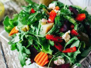 Summer Herb Salad Healthy Recipe