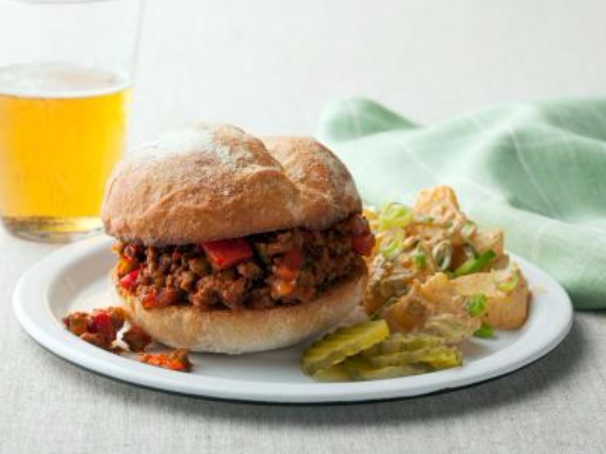 Super Sloppy Joes Healthy Recipe