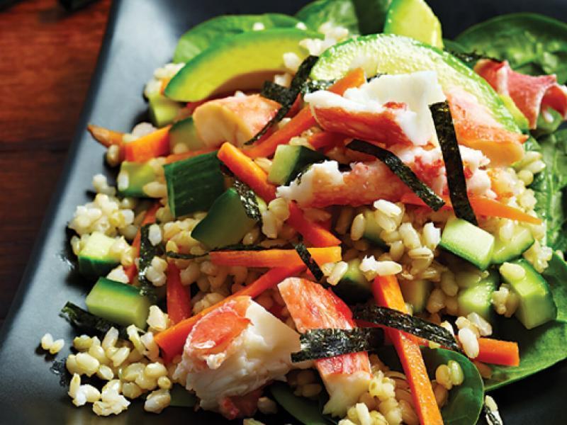 Sushi Salad Healthy Recipe