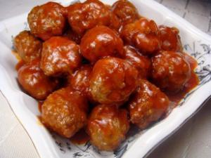 Sweet and Sour Meatballs Healthy Recipe