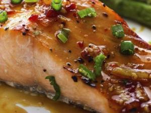 Sweet Chili Salmon Healthy Recipe