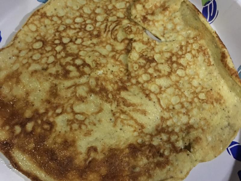 Sweet Egg Pancake Healthy Recipe
