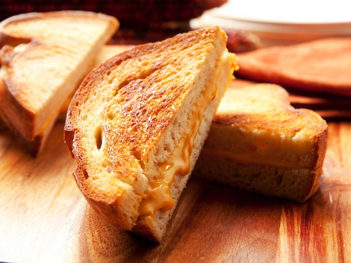 Sweet Grilled Cheese Healthy Recipe
