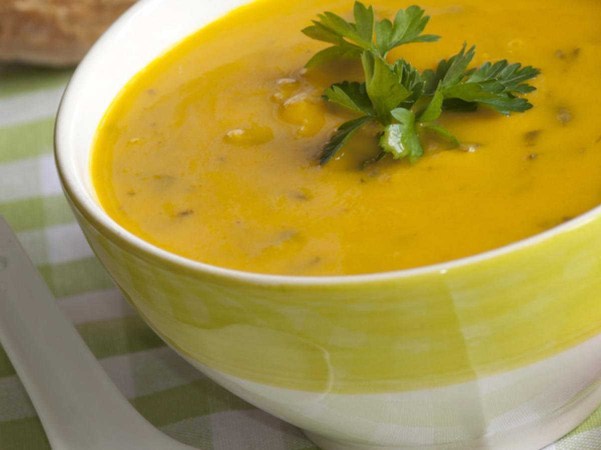 Sweet Potato, Kale, and Corn Chowder Healthy Recipe