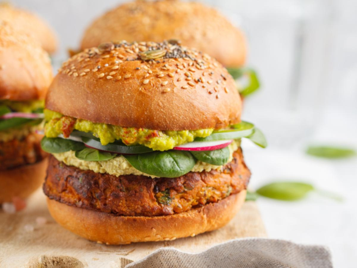 Sweet Potato Sandwich  Healthy Recipe