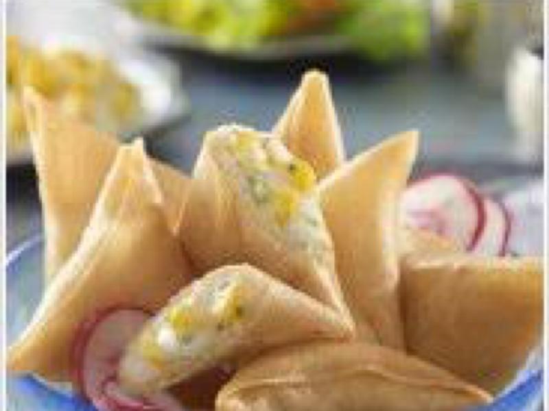 Sweetcorn and Cheese Samosa  Healthy Recipe