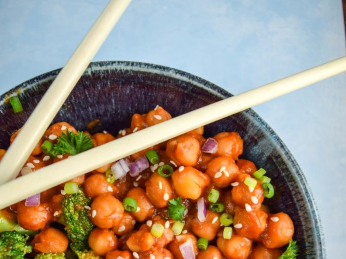 Teriyaki Chickpeas Healthy Recipe