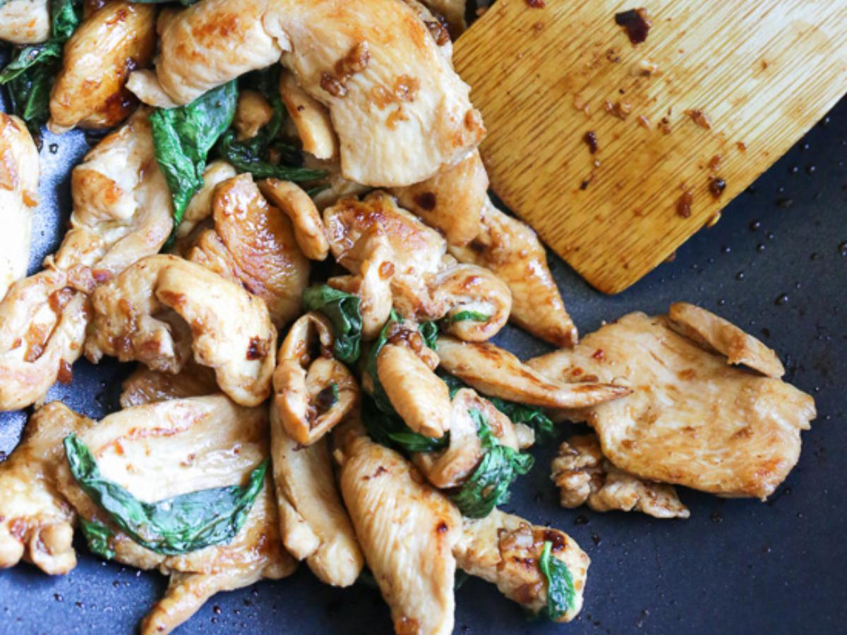 Thai Basil Chicken Healthy Recipe
