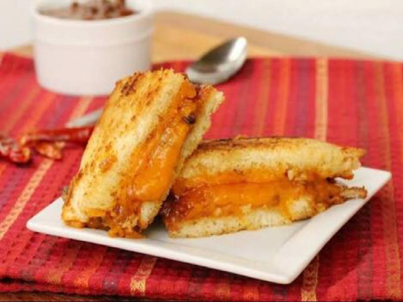 Toasted Chili Pepper Cheese Sandwich Healthy Recipe