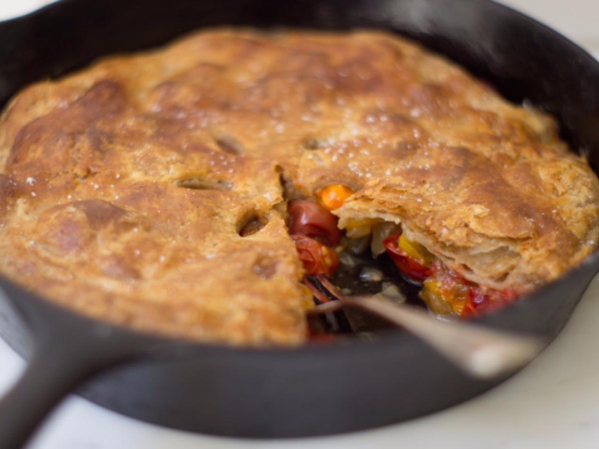 Tomato Tarte Tatin Healthy Recipe