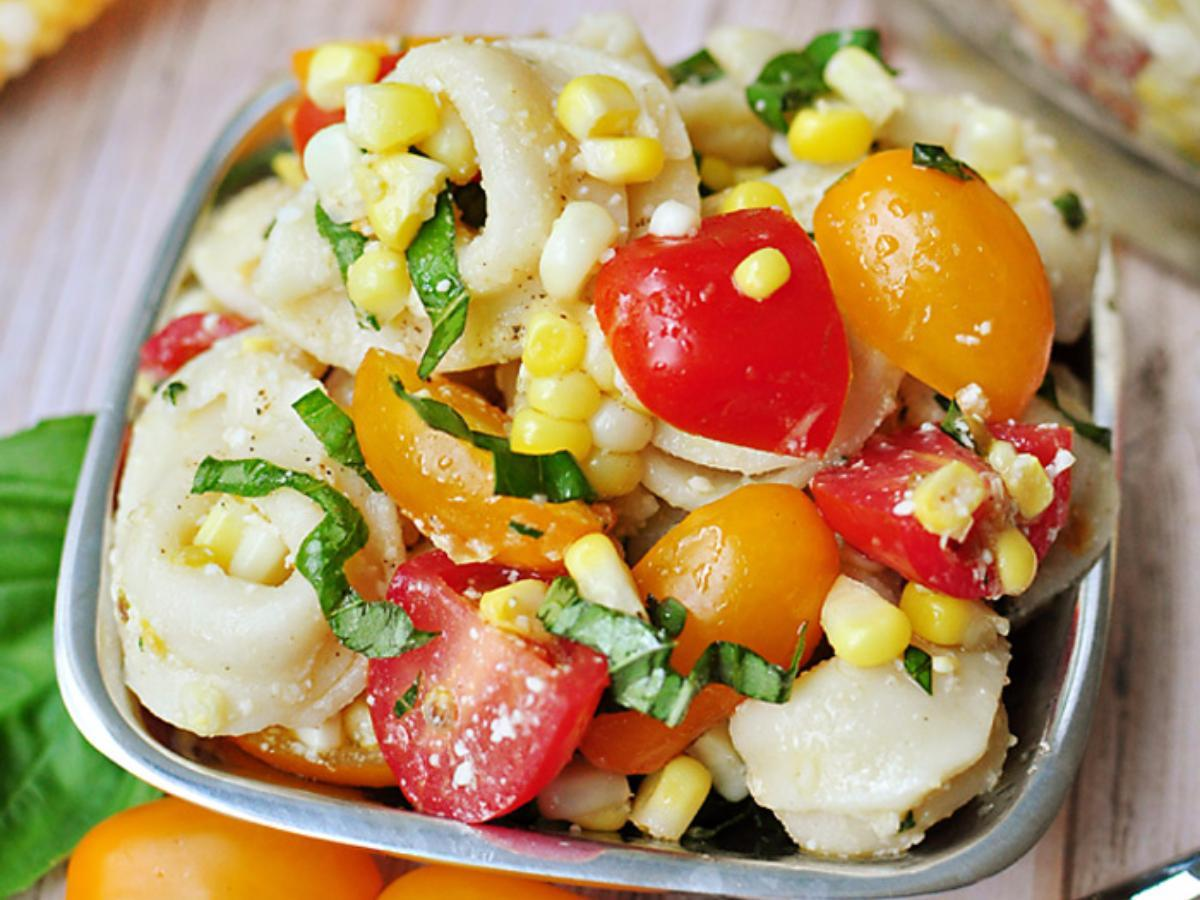 Tortellini Pasta Salad Healthy Recipe