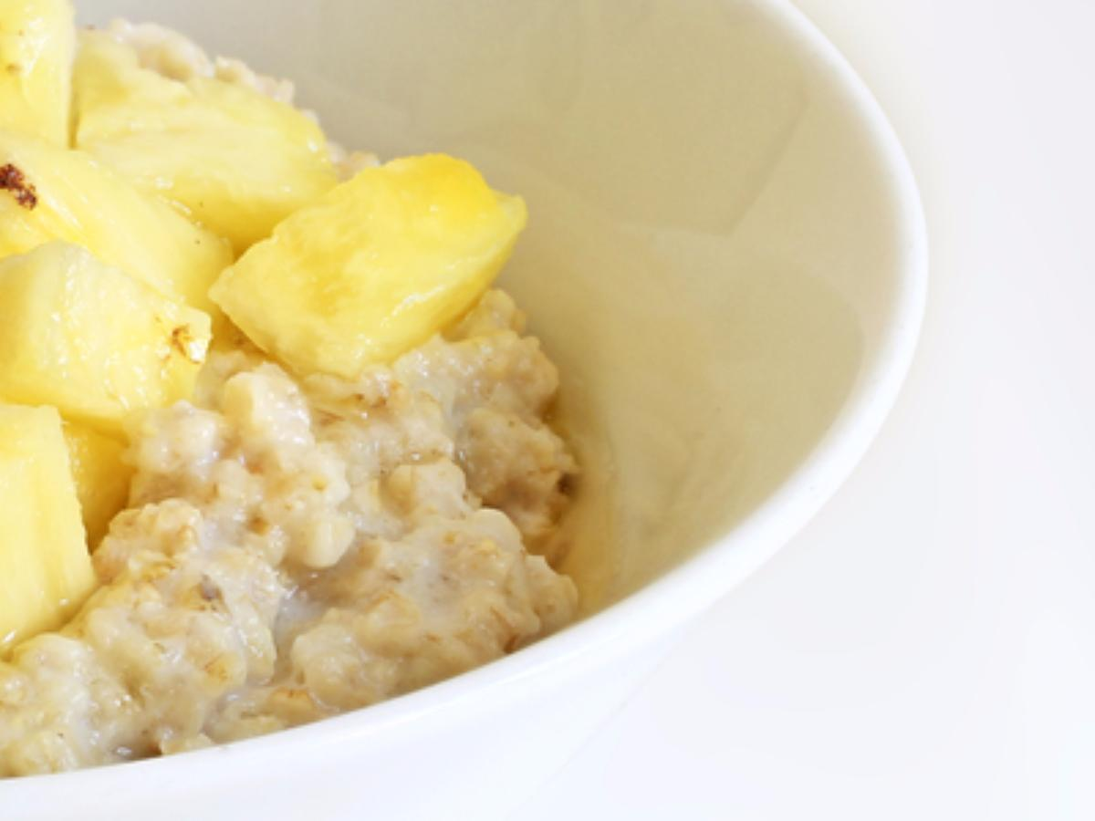 Tropical Coconut Oatmeal Healthy Recipe