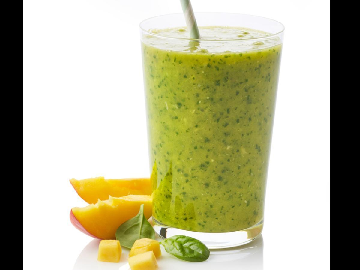 Tropical Green Smoothie Healthy Recipe