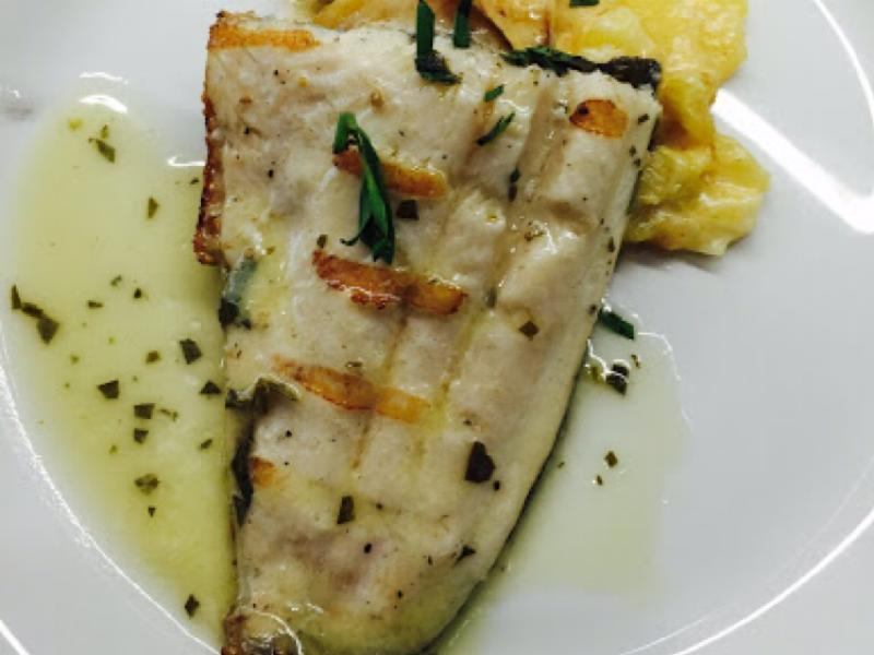 Trout with Tarragon Butter Healthy Recipe