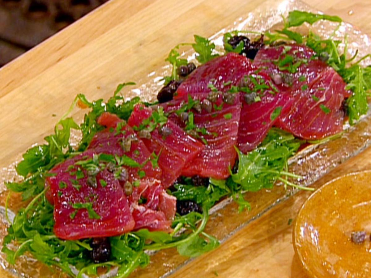 Tuna Carpaccio Healthy Recipe
